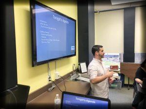 Rob Hoffman Presenting a SCORE Workshop