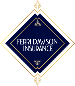 Ferri Dawson Insurance Group diamond shaped logo.