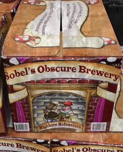 Interview-Sobel's Obscure Brewery. An image of Highborn Hefeweizen beer.